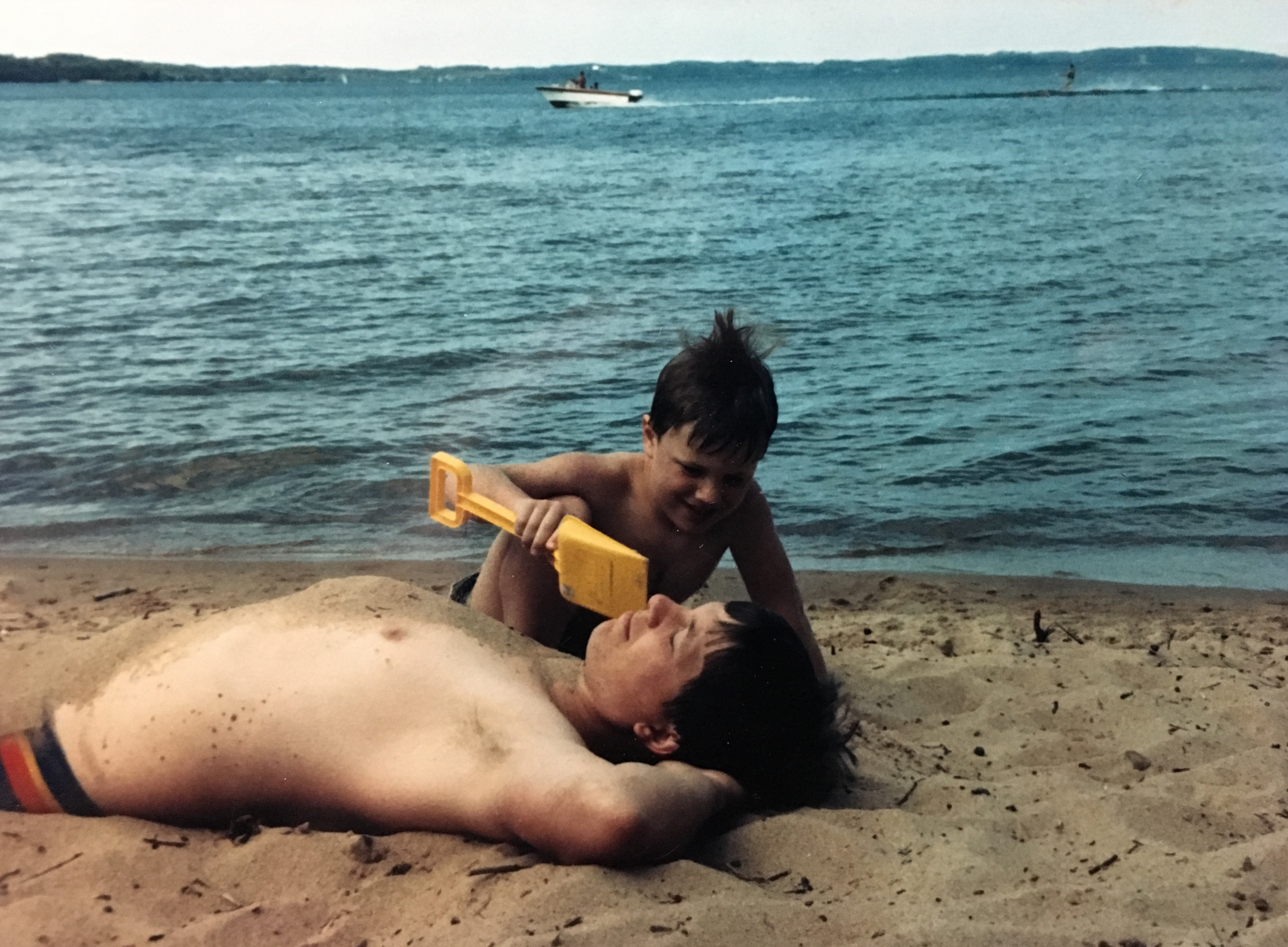 Dad - Beach
